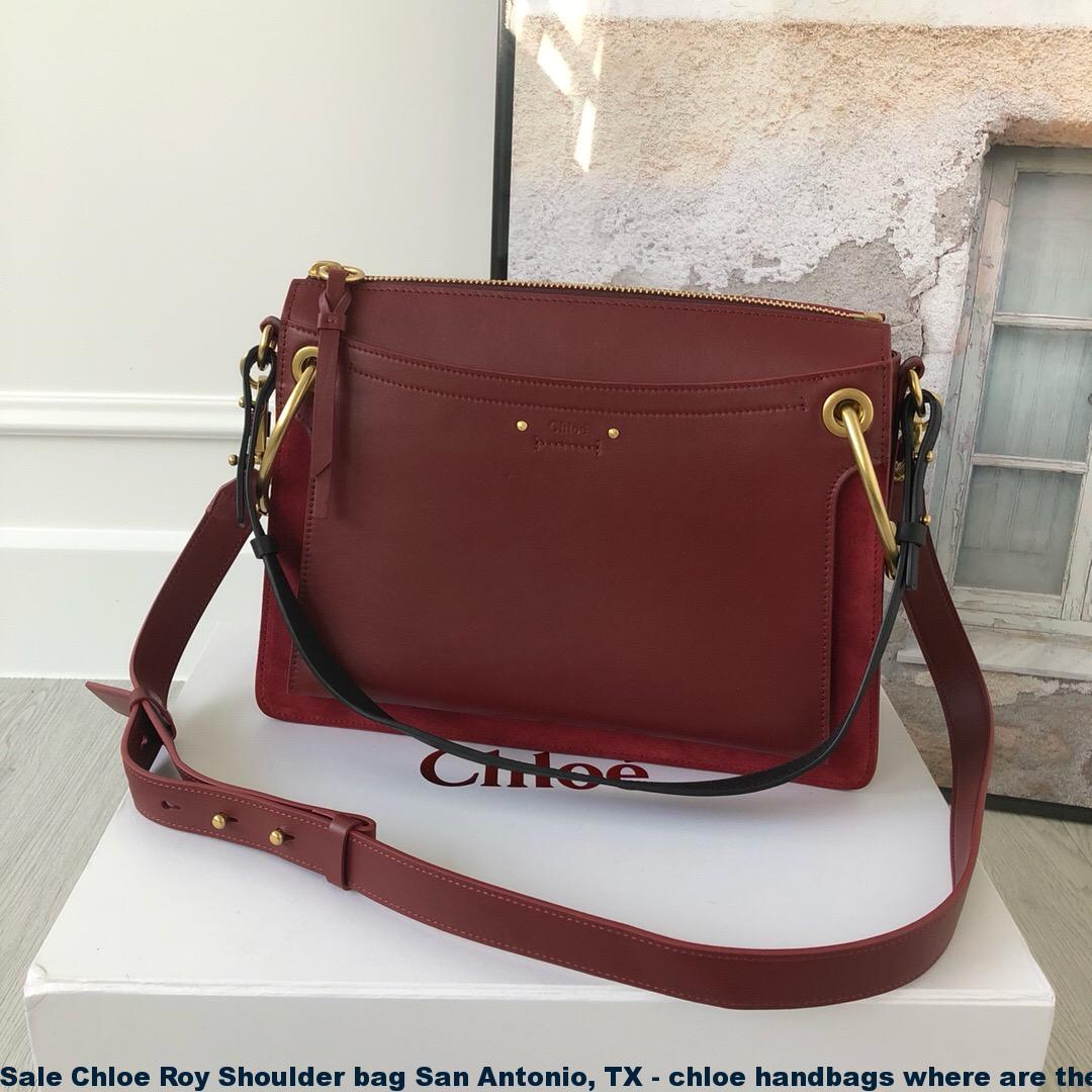 6cffc924d76bbd Sale Chloe Roy Shoulder bag San Antonio, TX – chloe handbags where are they  made